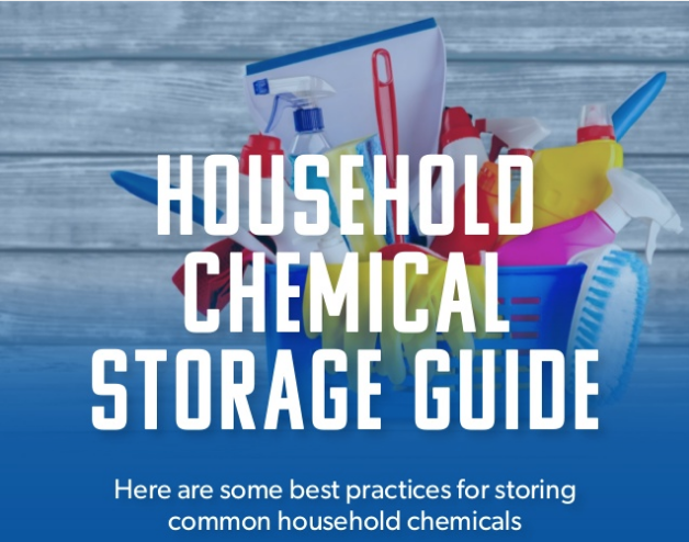 Household Chemical Storage Guide via Captain Housekeeper
